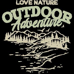 Naturliebhaber Outdoor Adventure