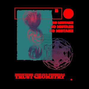 Heilige Geometrie Dimension Cymatic Face Modern