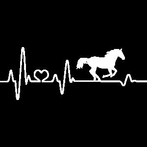 Pferd Herzschlag Reiter Reiterin Reitsport reiten