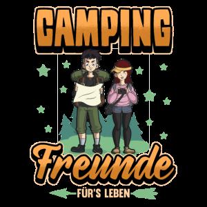 Camping Freunde Beziehung Liebe Pärchen Geschenk