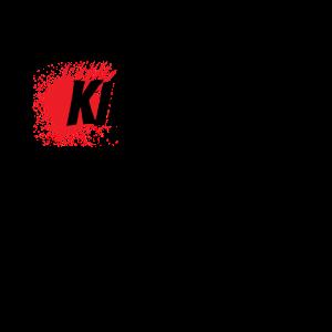 Kill them with kindness - schwarzer Humor Büro