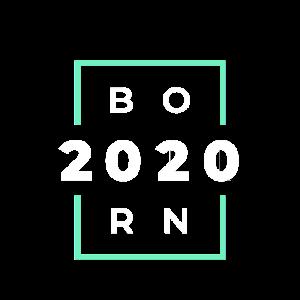 Geburtstags Shirt - Born - 2020 - Geschenk