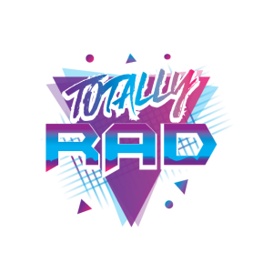 Totally Rad| Triangles| Retro| 1980s| Awesome