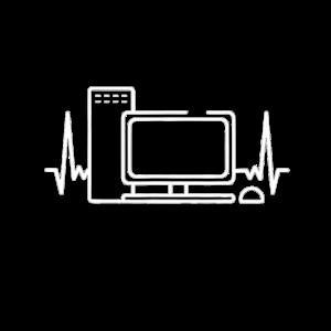 Computer Herzschlag