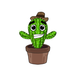kostenlose Umarmung Kaktus kuscheln