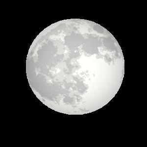 Mond Vollmond Weltraum