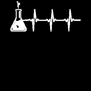 Chemie Reagenzglas Nerd Labor Geek