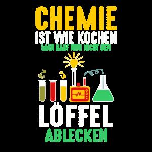 Chemiker Geek Labor Chemie Spruch Versuch