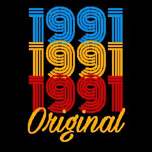 1991 Original Geburtstag / Geschenk