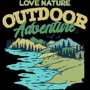 Outdoor Adventure Naturliebhaber