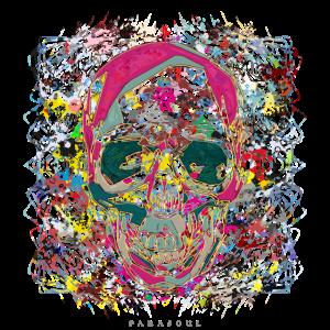 Skull Color Art