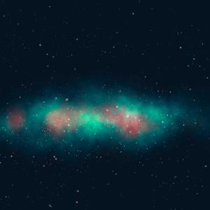 Space Neck Gaiter Hübscher Galaxy Neck Gator