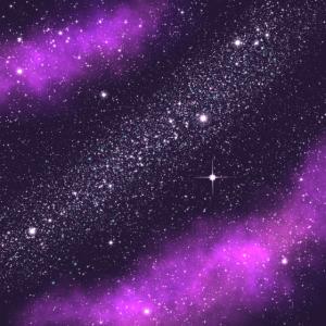 Space Neck Gamasche Lila Galaxy Neck Gator