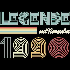 Legende seit November 1990 Geburtstag Geschenk