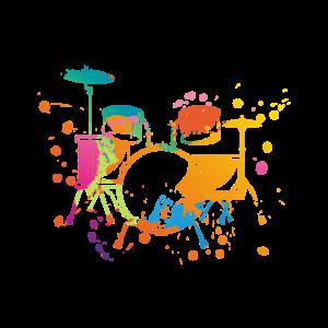 Schlagzeug Splash