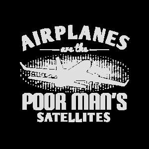 Flugzeuge sind die Satelliten des armen Mannes - ZinSpira