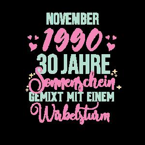 30. Geburtstag Damen Legendär Seit November 1990