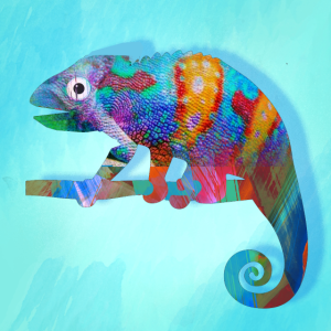 Chamäleon,mint,graffiti,camelion , illustration
