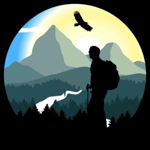 Berge, Wandern, Wildnis - Mann