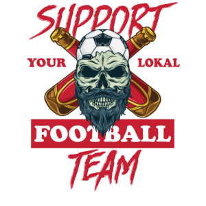 Support your Local Football Team Fussball Fan