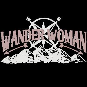 Wander Woman Hiking Wandern Frauen