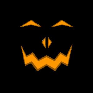 Kürbis Gesicht Spukig Fratze Halloween