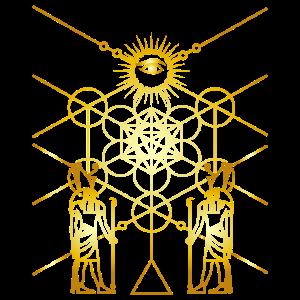 Ägyptische Heilige Geometrie Universum