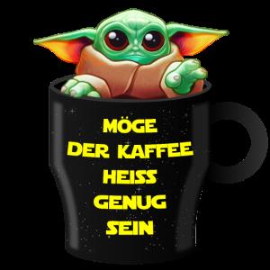 Babyyoda Kaffee Alien Büro Geschenkidee