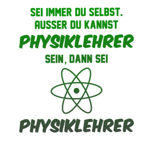 Physiklehrer Geschenk