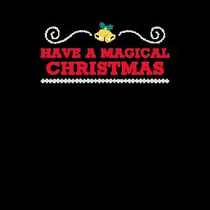 Haben Sie eine magische Weihnachtsglocken und Holly