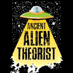 Ancient Alien Theorist Lustig Geschenk