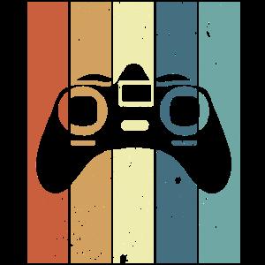 Game Kontroller im retro vintage Stil Geschenkidee