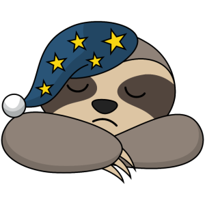 Faultier Schlafmütze Schlafen Müde Langschläfer