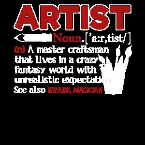 Künstler Definition Shirts