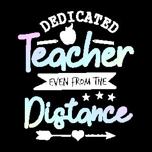Dedicated Teacher Distance