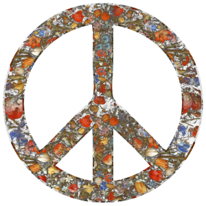 Love Peace Peacezeichen Friedenssymbol icon Blumen