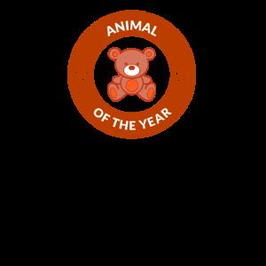 Animal of the Year Tier des Jahres Teddybär Teddy