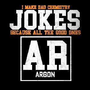 Jokes Chemistry Science Argon Wortwitz