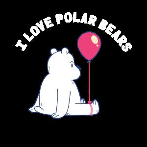 Eisbär Baby Süß