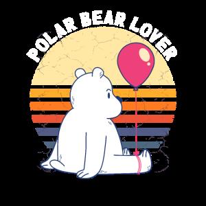Süßes Eisbär Shirt Kinder