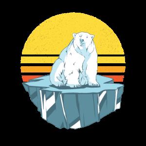 Eisbär auf Eisberg Eisbären Geschenkidee