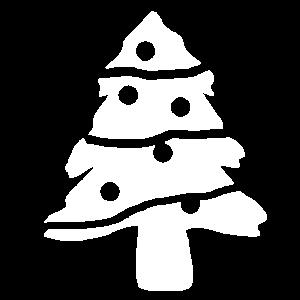 gemusterter Tannenbaum, Weihnachten, weihnachtsmus