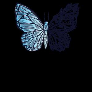 Kristall Schmetterling