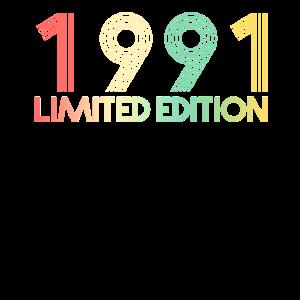 30. Geburtstag 1991 Geschenk Geschenkidee