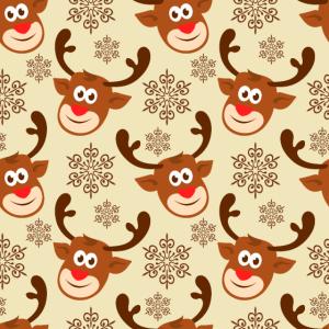 Maske Weihnachten Rentier Gesichtsmaske Santa