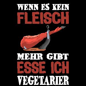 Fleisch Vegetarier Fleischesser