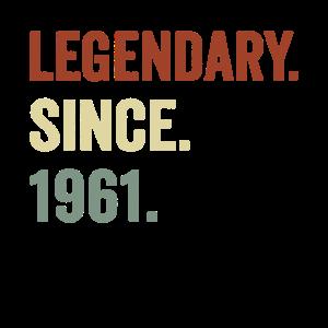 Legendär seit 1961