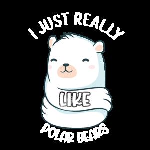 Eisbären Geschenk Eisbär