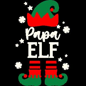 Papa Elf Weihnachten Weihnachtsgeschenk