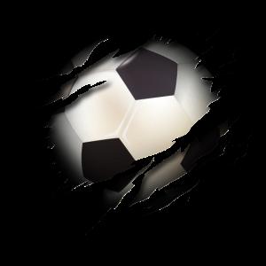 Fußball mit Herz - Fußball Sport Leidenschaft